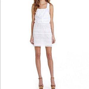JESSICA SIMPSON: Crochet Lace Blouson Dress